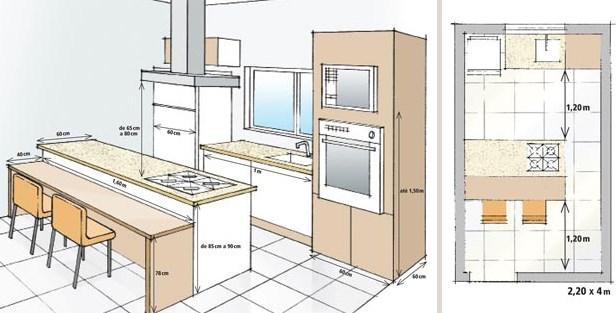 Remodelações de Cozinhas - Levantamento e Planta