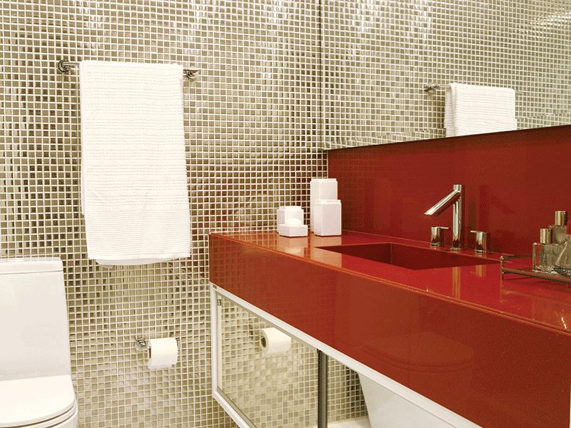 pastilha aço inox casa de banho 1
