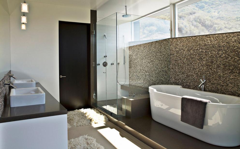 remodelações de casas de banho 01 - com banheira moderna